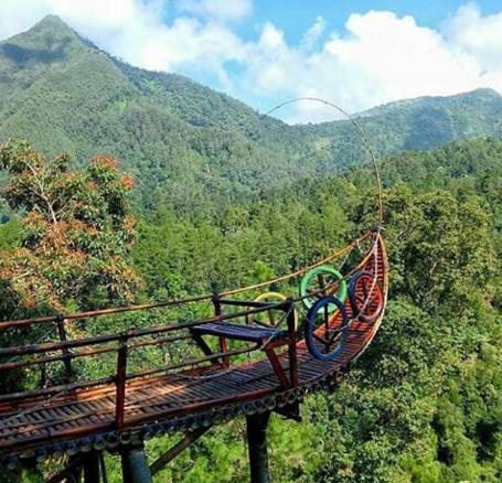 Rute Menuju Taman Wisata Genilangit Secara Administratif Bedengan Masuk Kawasan