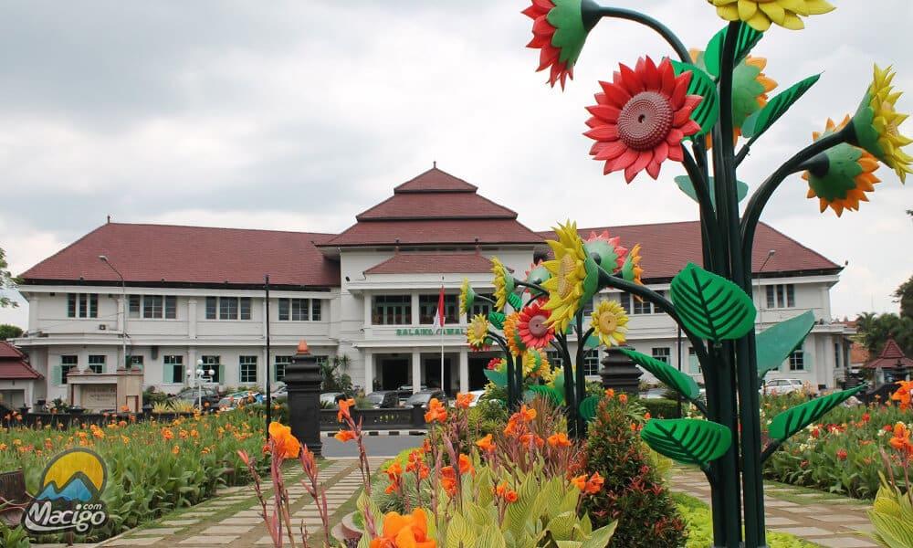 Alun Tugu Kota Malang Macigo Balai Kab