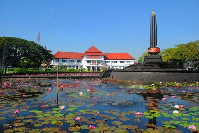 Beda Dulu Alun Tugu Balaikota Malang Balai Kota Kab