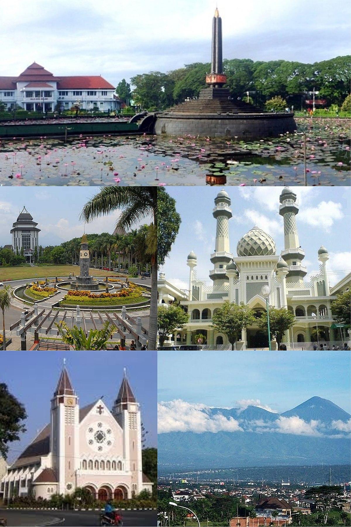 Kota Malang Wikipedia Bahasa Indonesia Ensiklopedia Bebas Alun Tugu Balai