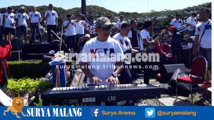 Menilik Peran Penari Pemusik Kemeriahan Pesta Rakyat Kota Malang Alun