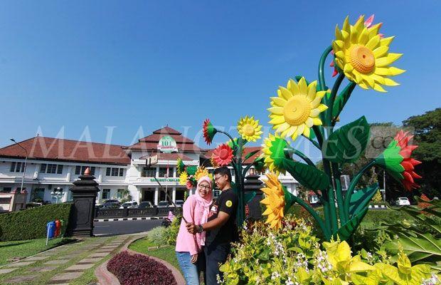 Peristiwa Libur Panjang Alun Tugu Digemari Wisatawan Malang Kota Foto