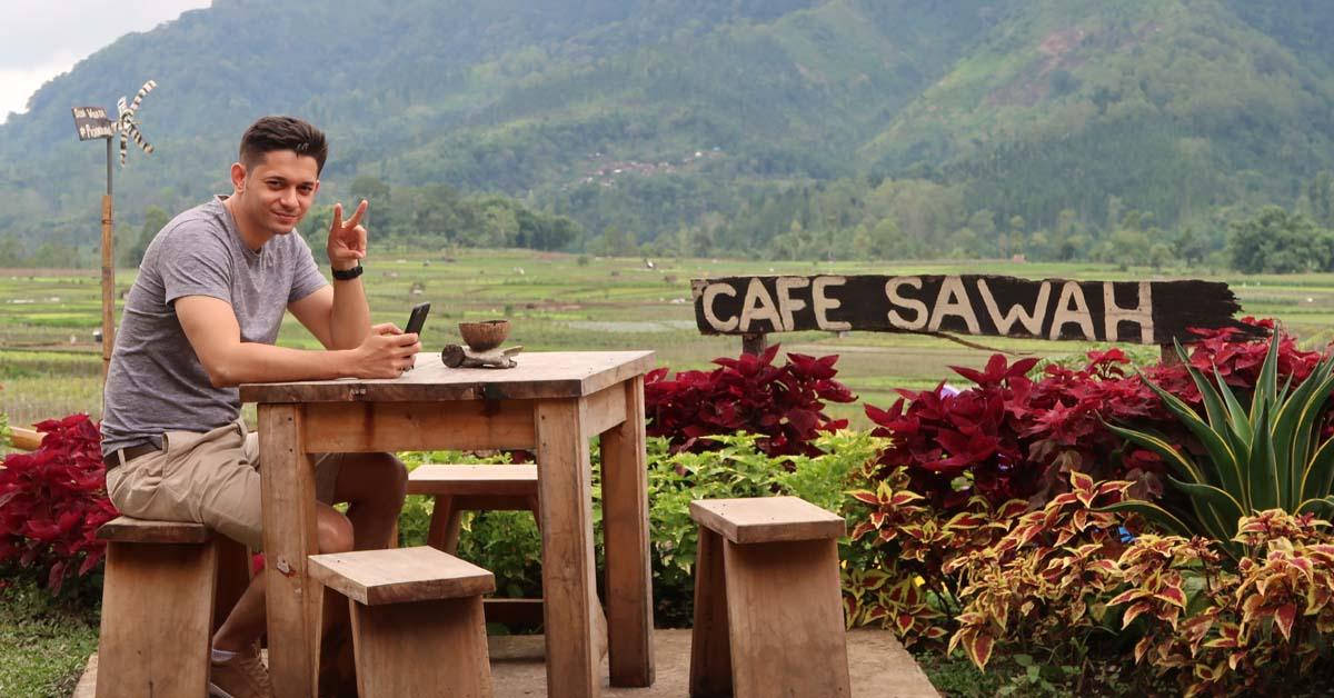 Desa Wisata Pujon Kidul Jadi Destinasi Favorit Andrew Andika Menikmati