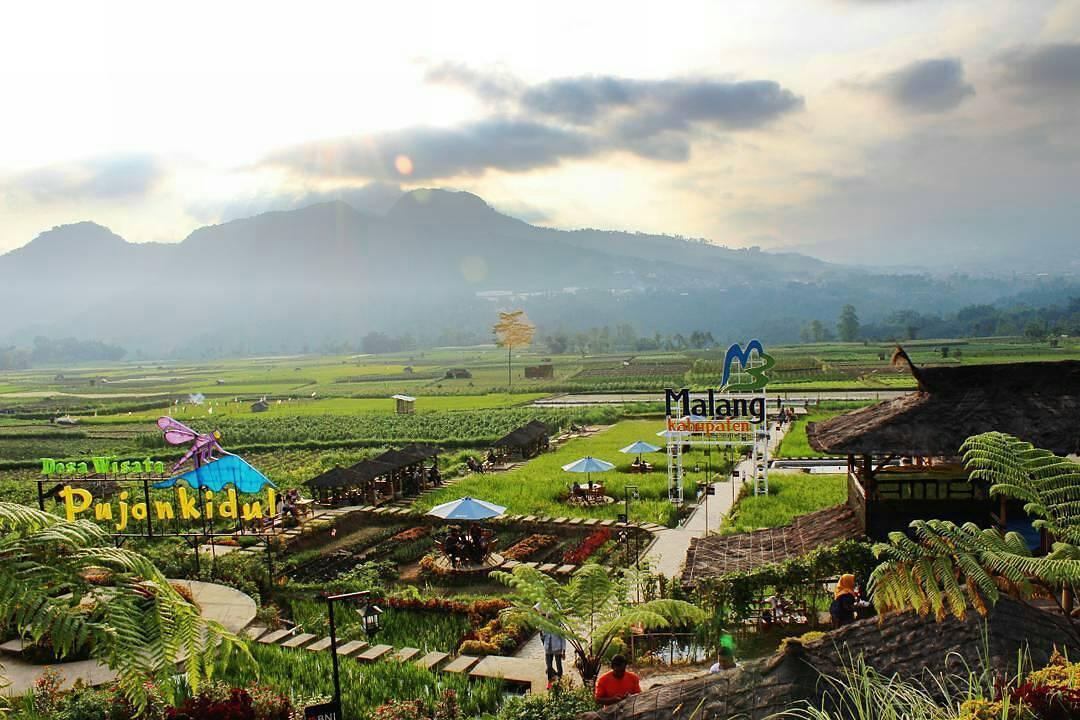 Emildayusniya Yakin Enggak Liburan Malang Cafe Sawah Pujon Kidul Kab