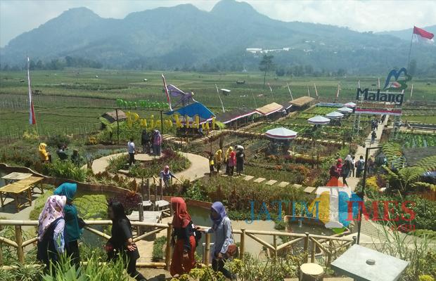 Wisata Akhir Pekan Cafe Sawah Pujon Kidul Diserbu Hingga Keeksotisan