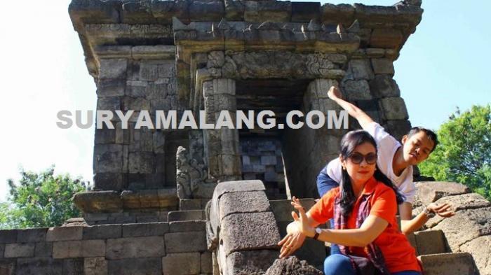 Candi Badut Kabupaten Malang Jadi Lokasi Riset Artistik Peserta Idf