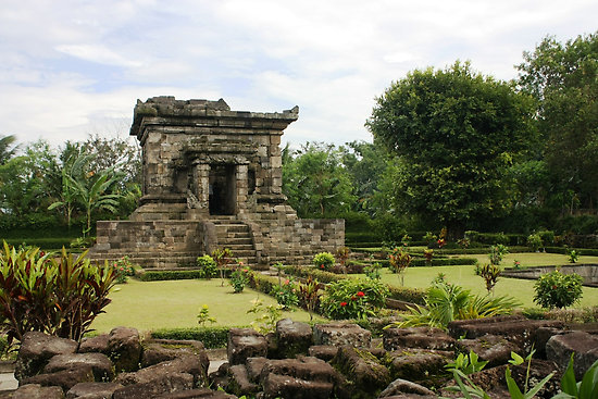Candi Badut Objek Wisata Jawa Timur Indonesia Kab Malang