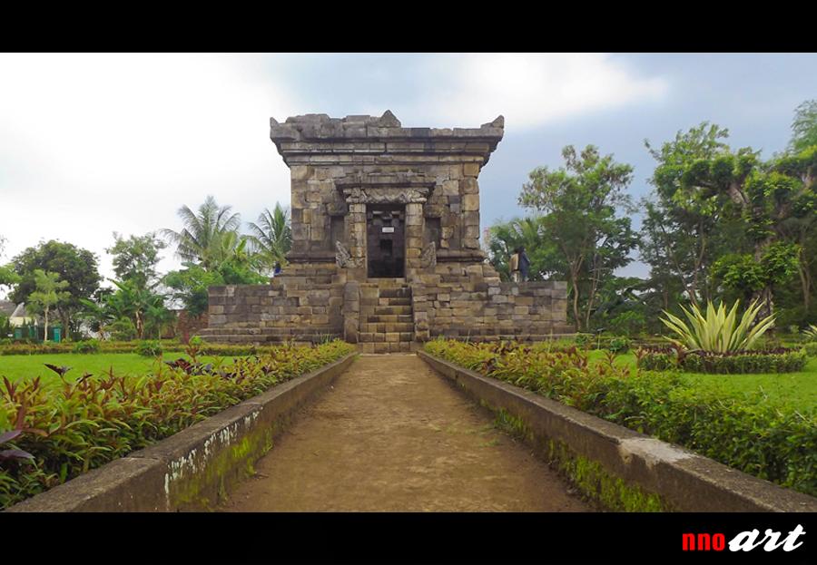 Candi Badut Warisan Sejarah Malang Nnoart Foto Depan Kab