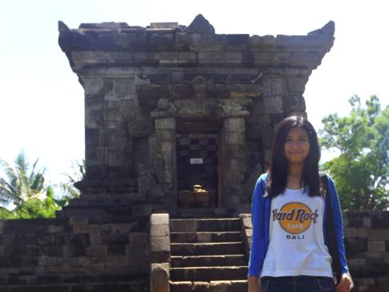 Candi Badut Wisata Sejarah Kota Malang Raleopaq Foto Penulis Latar