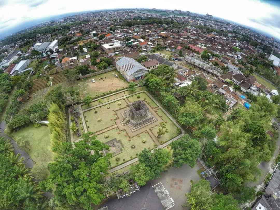 Candi Canggal Asal Usul Badut Jalan Malang Bercorak Wurung Gambar