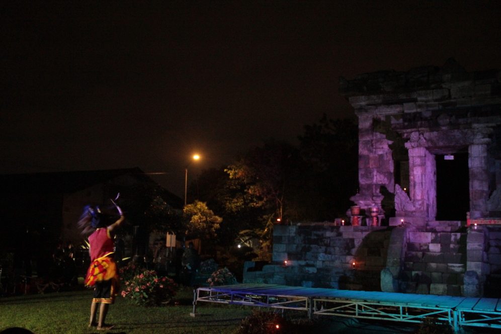Malang Merdeka Warna Warni Budaya Pelataran Candi Badut Kab