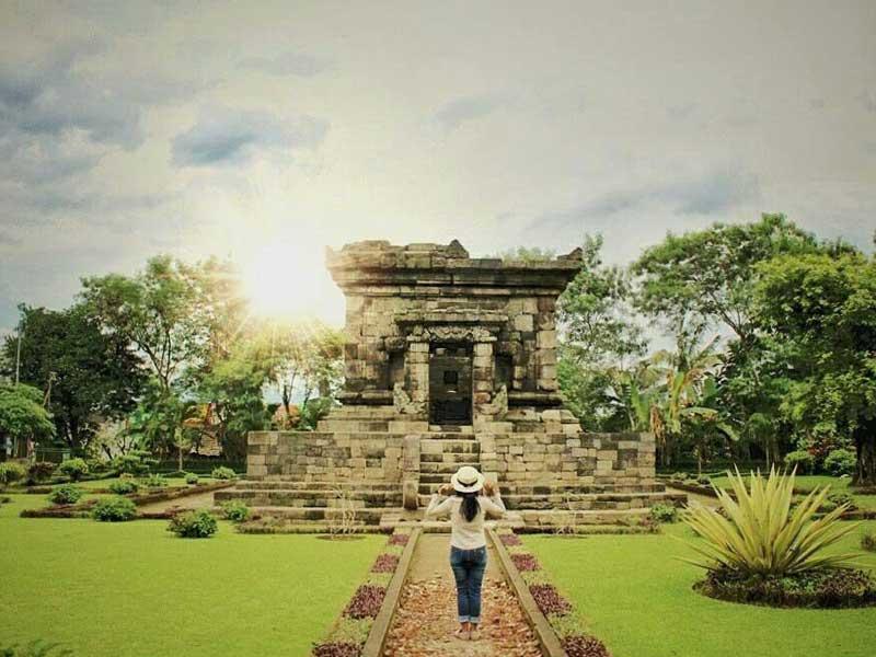 Yuk Berlibur Tempat Wisata Bersejarah Candi Badut Amazing Malang Kab