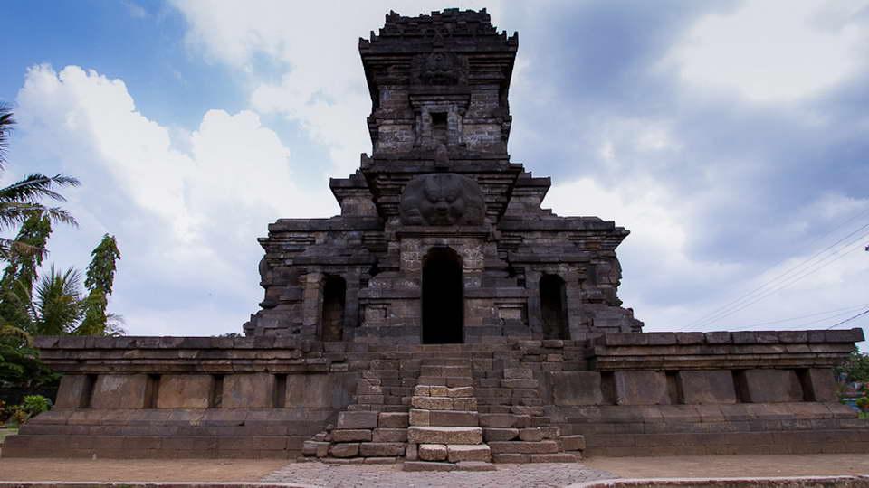 Candi Singasari Penghormatan Raja Kertanegara Perpusnas Terletak Desa Renggo Kecamatan