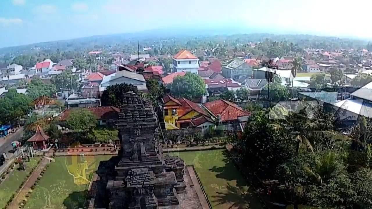 Candi Singosari Kab Malang Aerial Footage Youtube