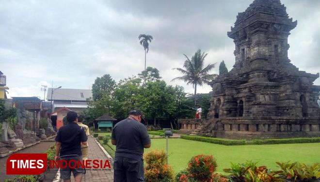 Kebesaran Kerajaan Singosari Nampak Puing Candi Terletak Kecamatan Kab Malang
