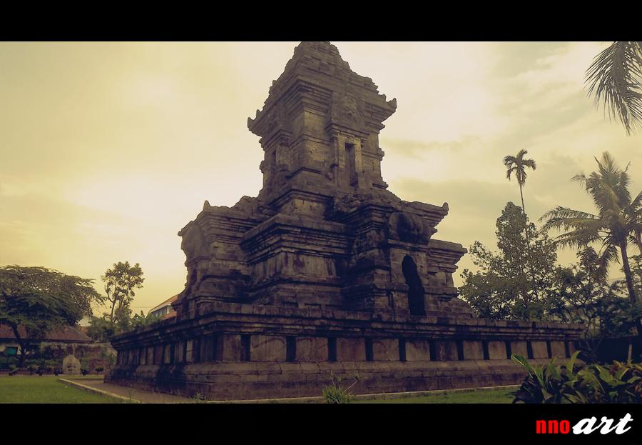 Kemegahan Candi Singosari Malang Nnoart Bangunan Utama Kabupaten Kab