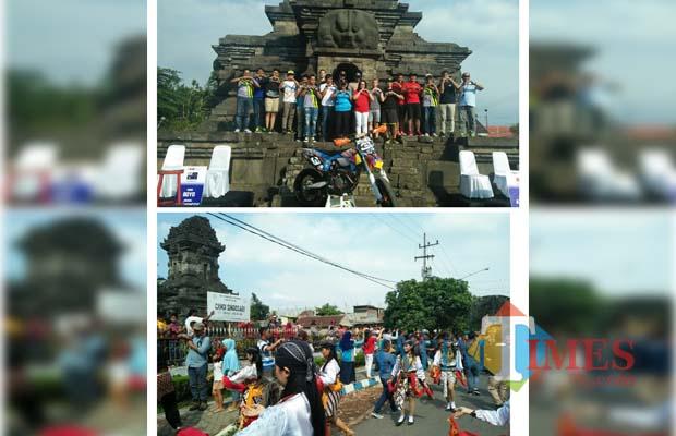 Malang Times Tari Tradisional Iringi Pembukaan Indonesia Supermoto Isc 2017