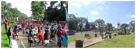 Inilah Spot Perayaan Pergantian Kota Malang Cfd Taman Idjen Boulevard