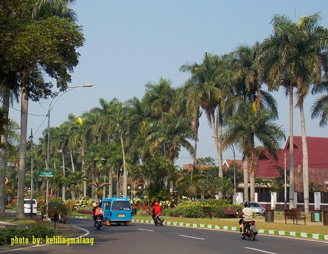 Jalan Idjen Boulevard Keliling Malang Besar Ijen 2 Kab