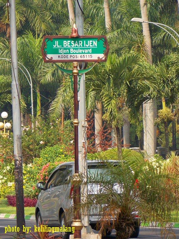 Jalan Idjen Boulevard Keliling Malang Besar Ijen Kab