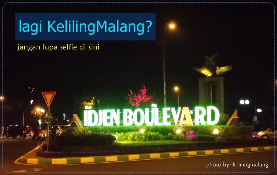 Jalan Idjen Boulevard Keliling Malang Kab