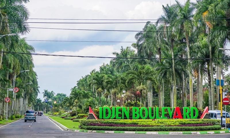 Jalan Ijen Kota Malang Seneng Piknik Idjen Boulevard Kab