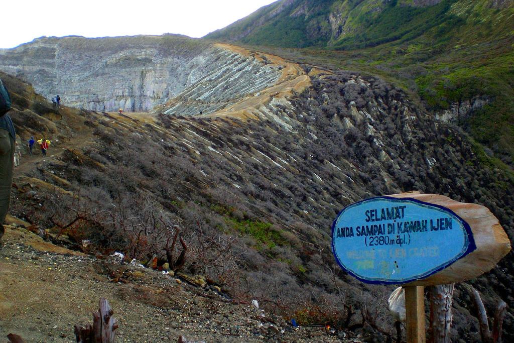 Kawah Ijen Crater Surabaya Attraction Copy Einsfuenfsechsvier Idjen Boulevard Kab
