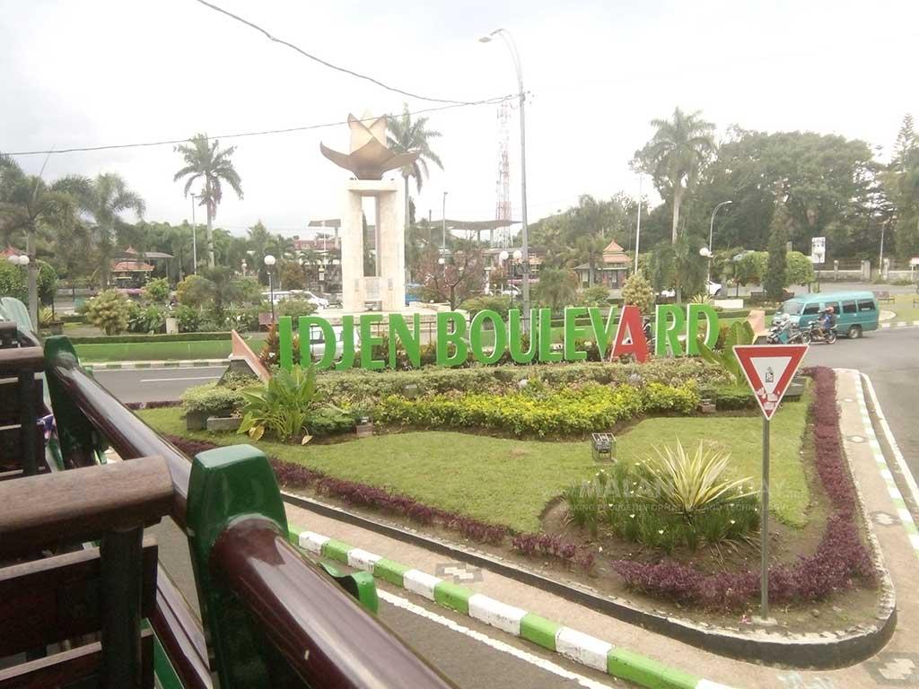 Keindahan Kawasan Cagar Budaya Kota Malang Ngangenin Idjen Boulevard Kab