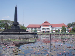Selamat Datang Jalan Ijen Kota Malang Boulevard Idjen Kab