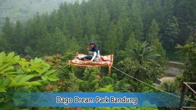 Nikmati Wisata Keluarga Asik Seru Dago Dream Park Bandung Kampung