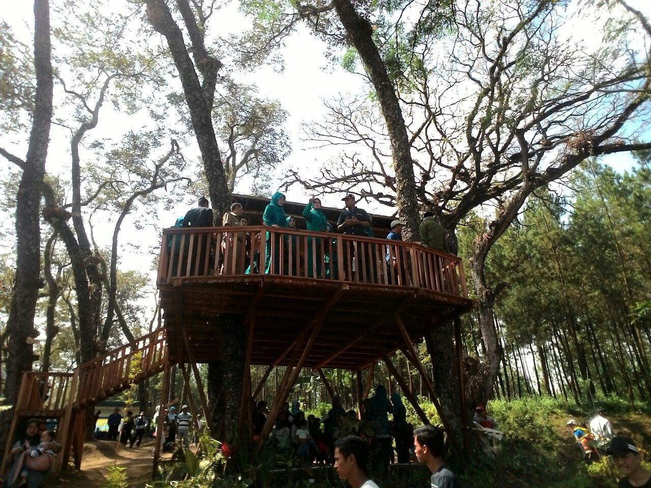 Peristiwa Destinasi Wisata Kampung Enem Patokpicis Bukti Program Hj Jajuk