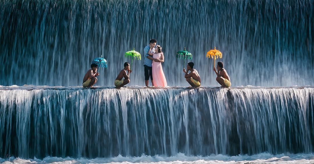 Piknikyok Foto Prewedding Tukad Unda Klungkung Bali Kampung Enam Wajak