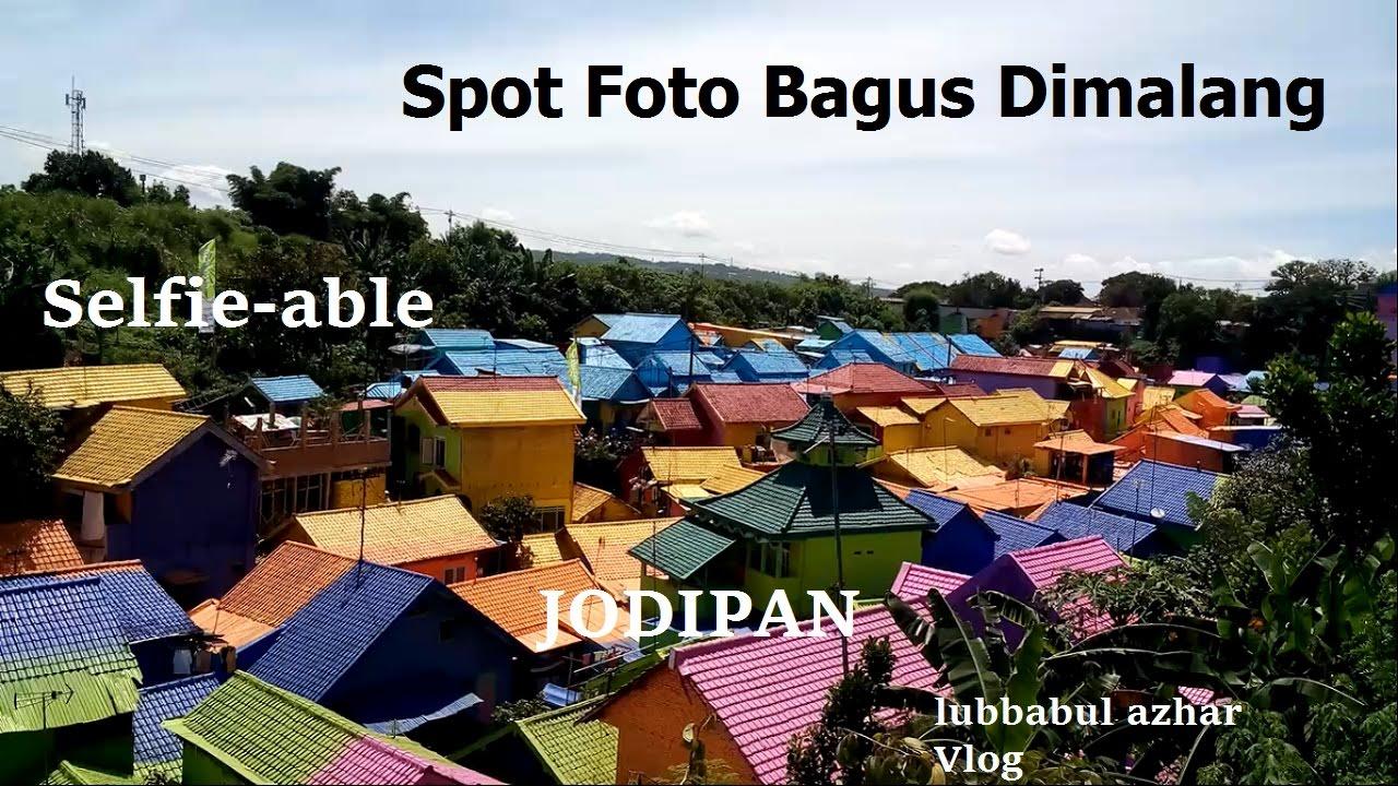 8 Spot Foto Terhits Malang Jodipan Kampung Warna Warni Youtube