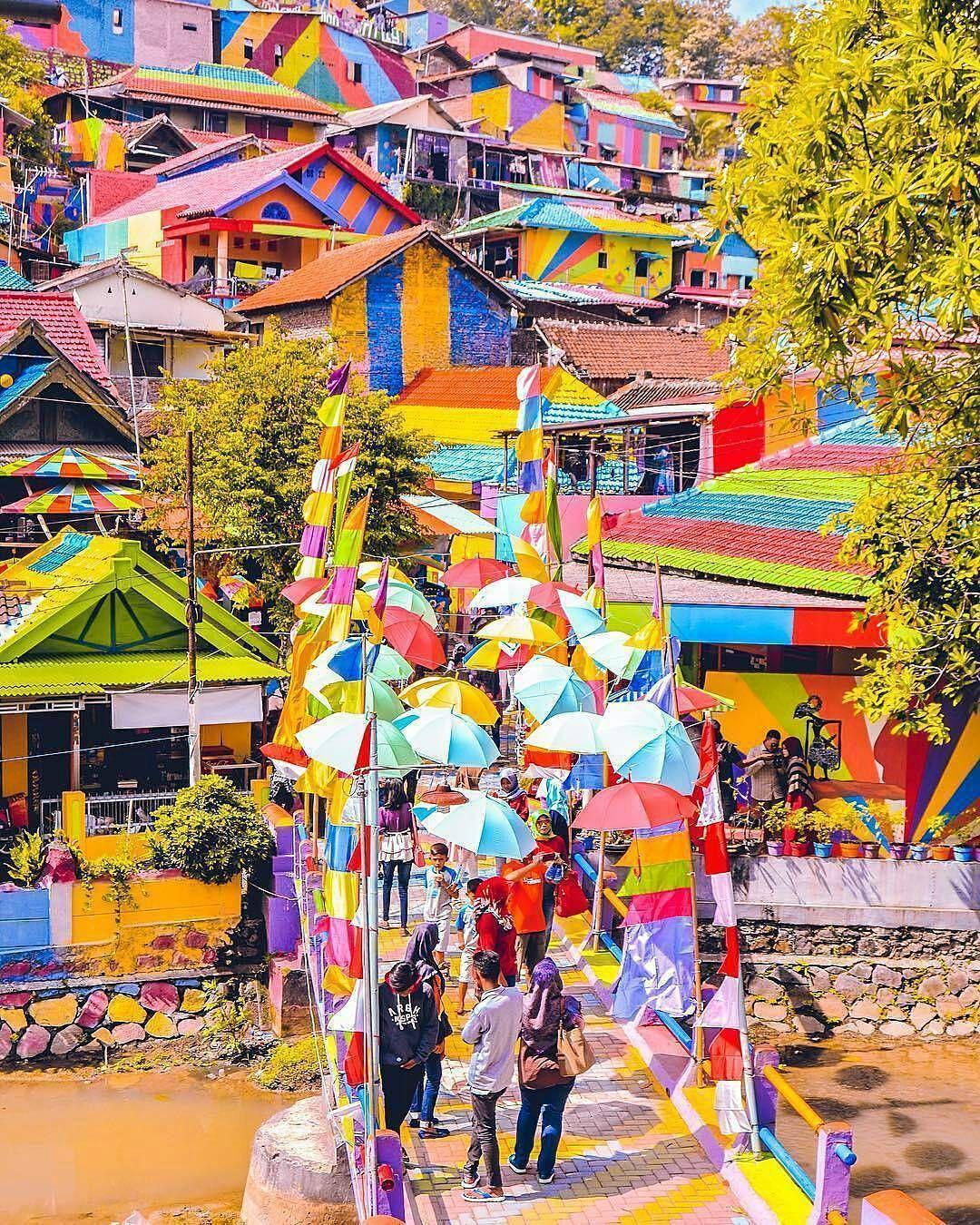 Kampung pelangi Jodipan, Malang | Sumber: Harga Tiket Wisata