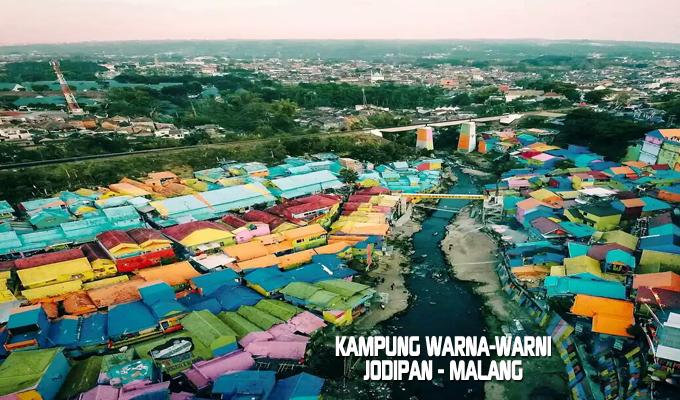 Archive September 2017 Kampung Warna Warni Tridi 3d Jodipan Malang