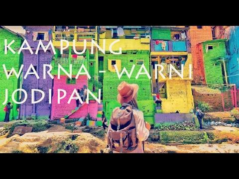 Kampung Warna Warni Jodipan Malang Jawa Timur Youtube Kab