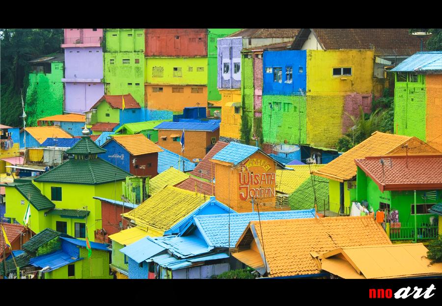 Kampung Warna Warni Jodipan Malang Kab