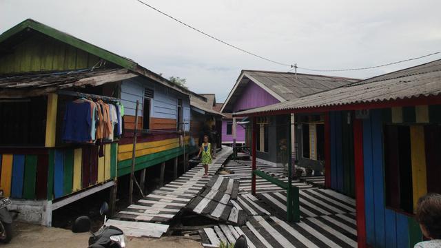 Kampung Warna Warni Jodipan Malang Punya Saingan Balikpapan Kab