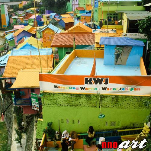 Kampung Warna Warni Jodipan Malang Warnai Harimu Tempat Wisata Asal