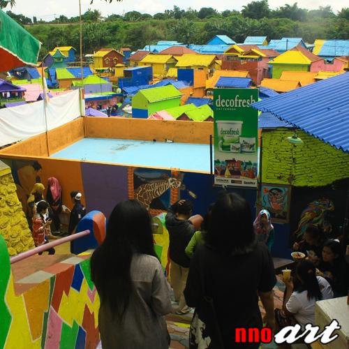Kampung Warna Warni Jodipan Malang Warnai Harimu Tempat Wisata Decofresh