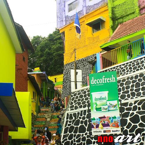 Kampung Warna Warni Jodipan Malang Warnai Harimu Tempat Wisata Salah