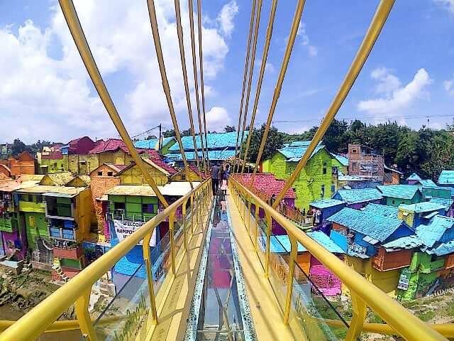 Kampung Warna Warni Malang Paket Wisata Bigtravelindo Jodipan Kab