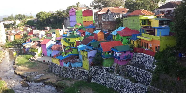 Kampung Warna Warni Malang Terinspirasi Kota Rio De Janeiro Suasana