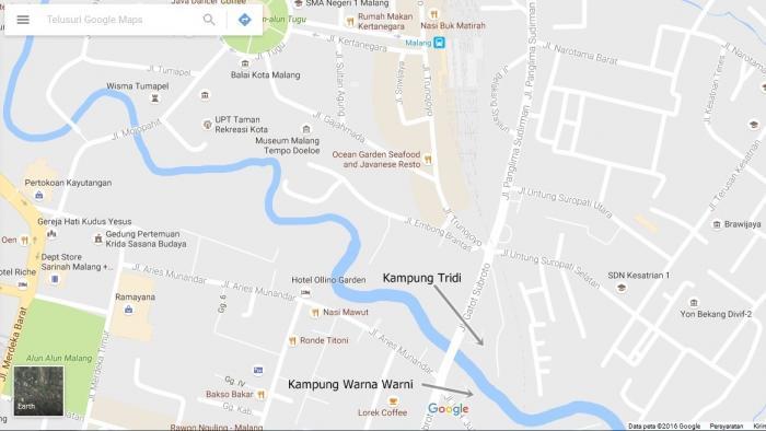 Kampung Warna Warni Pola Pembangunan Wisata Bawah Tidak Kedua Tersebut