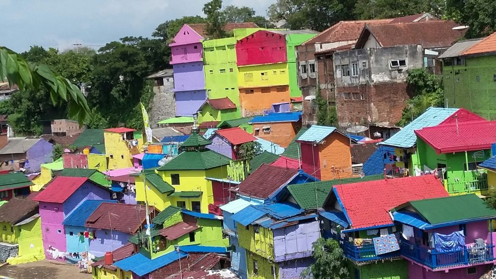 Mahasiswa Umm Balik Indahnya Warna Warni Jodipan Malang Berita Id
