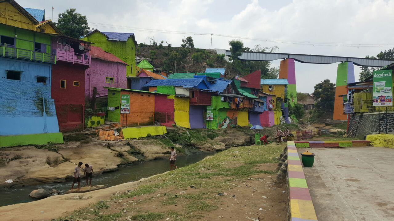 Pupr Apresiasi Kampung Warna Warni Jodipan Malang Kongres Kitanesia Kab
