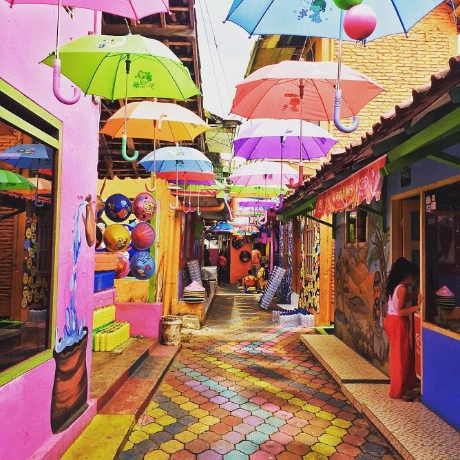 Wisata Kampung Warna Warni Jodipan Malang Jawa Timur Tiket Masuk