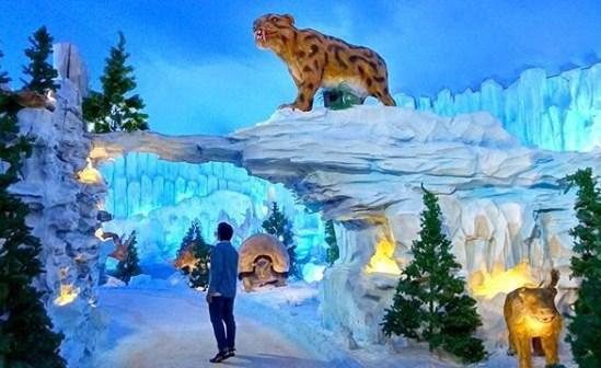 Info Wisata Lokasi Malang Snow Paradise Night Kab