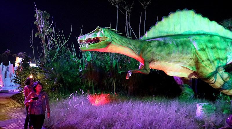 Malang Night Paradise Alternative Wisata Malam Raya Taman Dinosaurus Ilovemalang
