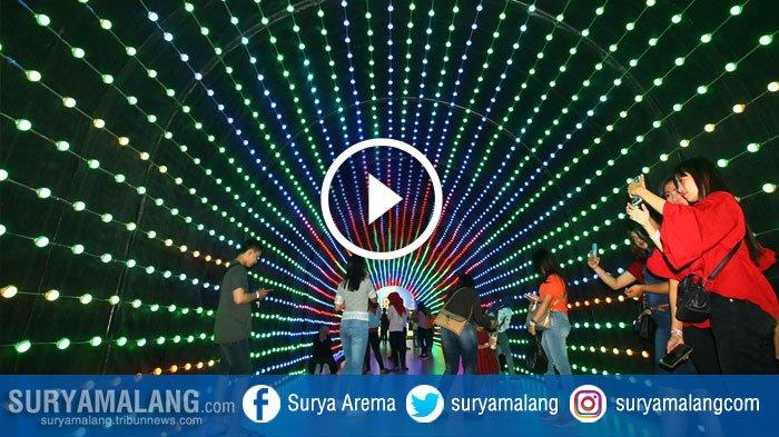 Slide Show Wisata Asyik Keluarga Malang Night Paradise Surya Kab